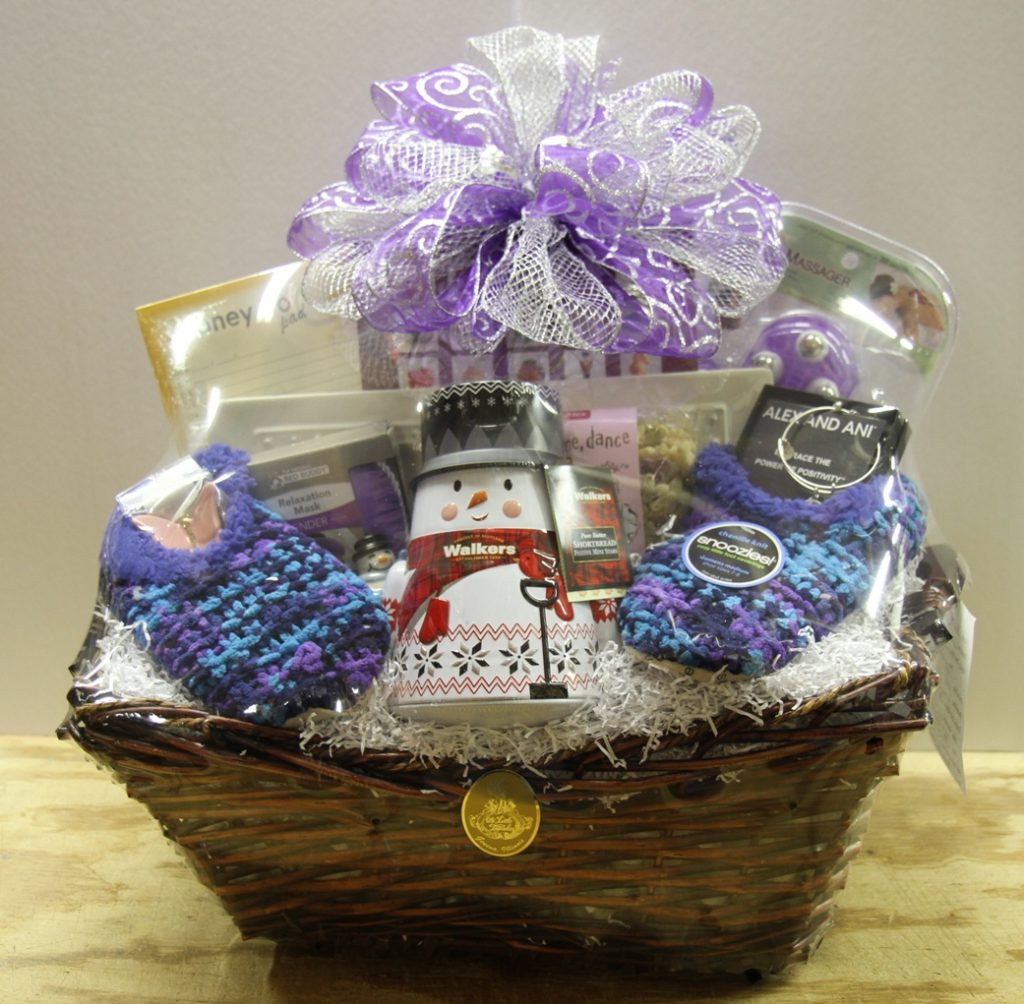 custom gourmet gift baskets winter