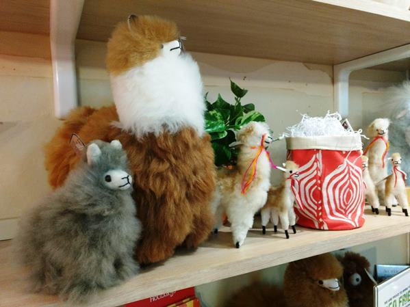 fair trade store - alpaca animals
