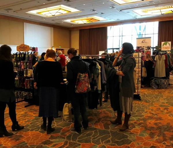 Shopping at the Fair Trade Federation Conference