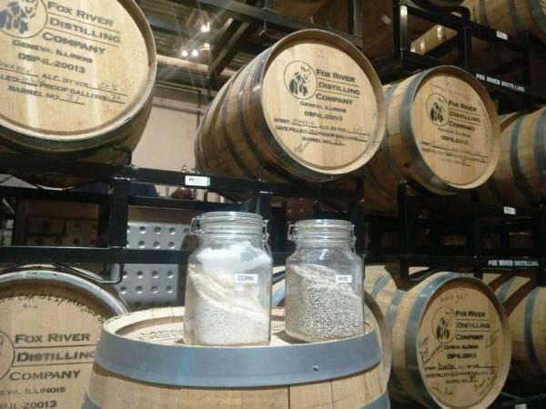Geneva distillery - barrels