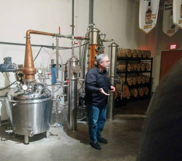 Geneva distillery - tour